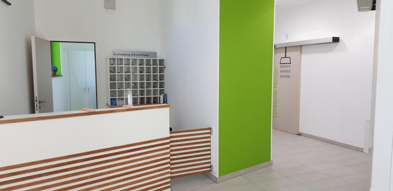 Vorstellung neues Bewegungsbad der Kliniken Bad Neuenahr GmbH & Co. KG