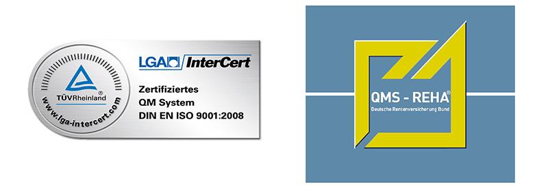 Zertifikate der Kliniken Bad Neuenahr GmbH & Co. KG