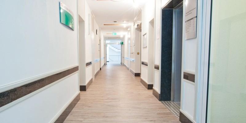 Klinik Juelich Flur