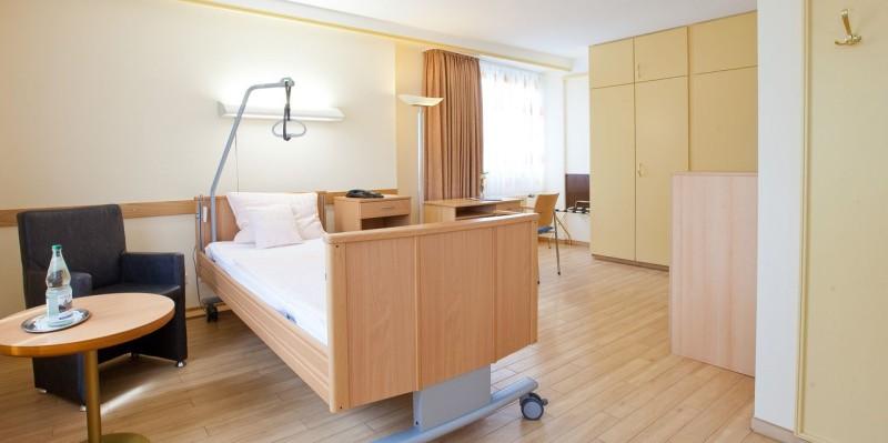Klinik Jülich Musterzimmer Komfortbereich