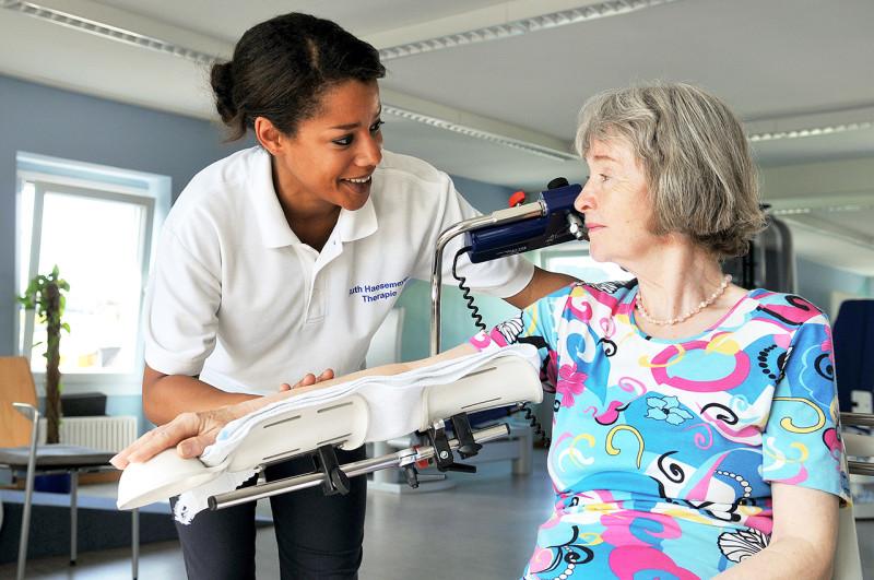 Klinik Kurkoeln Ergotherapie Schulterschiene